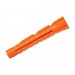 Дюбель 8,0 х 52мм оранжевый