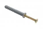 Дюбель с шурупoм 8,0 х 100 мм L потай