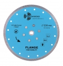 Диск алмазный TURBO с фланцем hot press 230x14/10мм