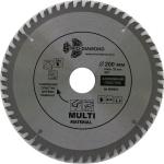 Диск пильный по мультиматериалам 200x56T/32-30мм