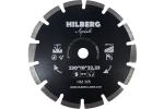 Диск алмазный Асфальт 230 х 11 х 22 мм Лазерная наварка Hard Materials
