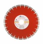 Диск алмазный SEGMENT Гранит Серебряная пайка 350x50мм(переходные кольца на 32/25.4)