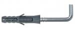 Дюбель с прямым крючком PX 12,0 x 8,0 х 100 мм