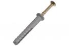 Дюбель с шурyпом  6,0 х 80 мм L потай