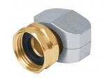 Коннектор соединительный 5/8-3/4 , метал, внутренняя резьба 17297