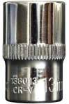 Головка торцевая  6гр 3/8 - 13 мм