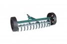Грабли садовые аэраторные на колесах 12 зубцов, 400 мм