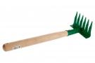Грабли садовые, оцинков. 10 витых зубцов, 260 мм