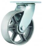 Колесо металлическое поворотное 100 мм ЧУГУН