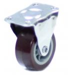 Колесо с креплением  25 мм коричневое/серое
