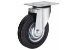 Колесо с креплением поворотное 125 мм усиленное