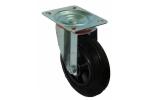 Колесо с креплением поворотное 160 мм усиленное