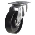 Колесо с креплением поворотное  65 мм усиленное ЧЕРНОЕ