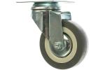 Колесо с креплением поворотное  75 мм