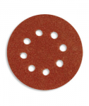 Круг абразивный на липучке 125мм с 8 отв. P36
