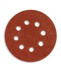 Круг абразивный на липучке 125мм с 8 отв. P80