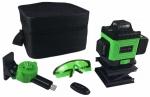 Лазерный уровень LL16-GL-Cube 16 линий, зеленый луч + 1акк 065-0167