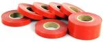 Лента подвязочная 25м (красная)