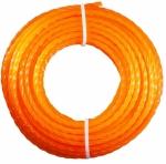 Леска для триммера, арм. круг, 2.40мм x 15м
