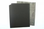 Лист шлиф.бумага с латексом 230 x 280 мм P  80 WPF Black э.корунд черн.