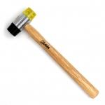 Молоток рихтовочный двухсторонний с дерев. ручкой