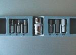 Набор бит автомобильный  7 пр. HEX 4-12 мм