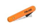 Нож прививочный с язычком для отгиба коры с прямым лезвием из нерж. стали