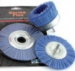 Щетка дисковая для УШМ из нейлона 125 х 22,2мм голубая