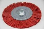Щетка дисковая для УШМ из нейлона 125 х 22,2мм красная