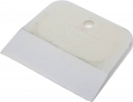 Шпатель резиновый белый 100 мм