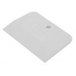 Шпатель резиновый белый 120 мм