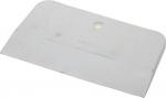 Шпатель резиновый белый 150 мм