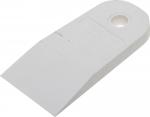 Шпатель резиновый белый  40 мм