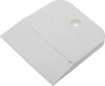 Шпатель резиновый белый  80 мм