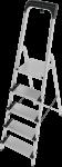Стремянка  5 ступени с лотком-органайзером